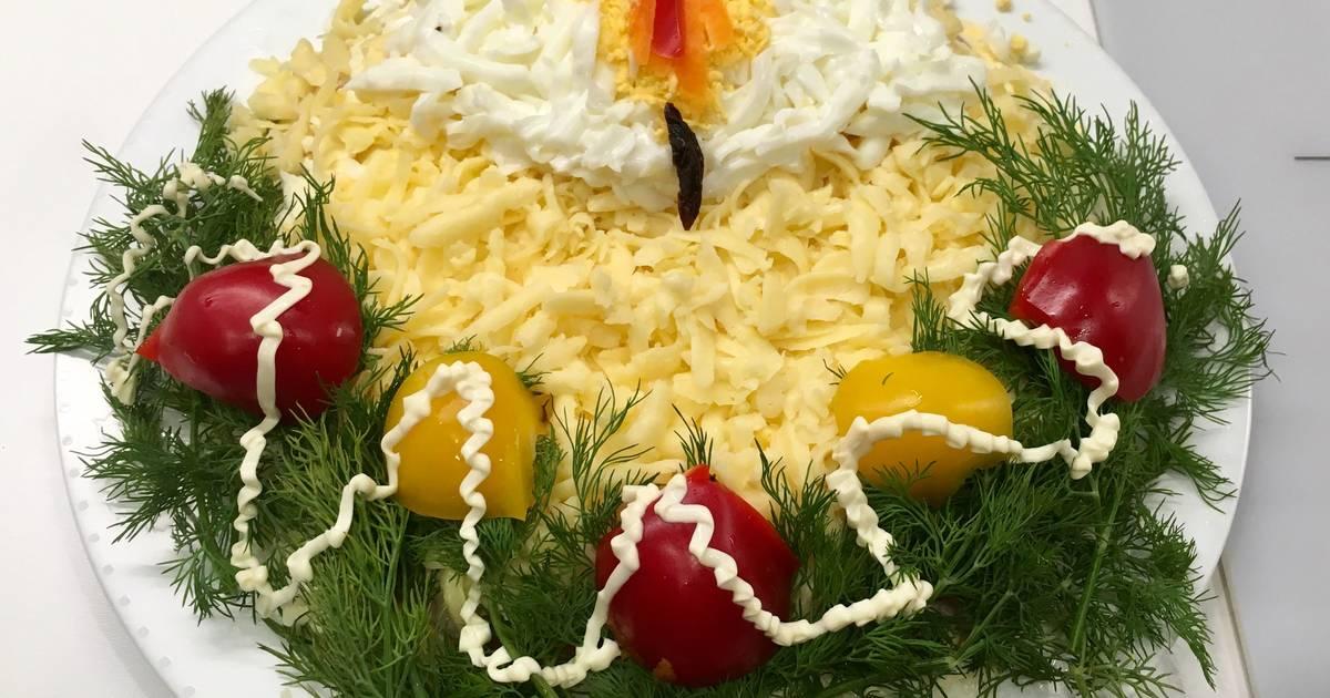 украшение салатов к новому году картинки воронежа для