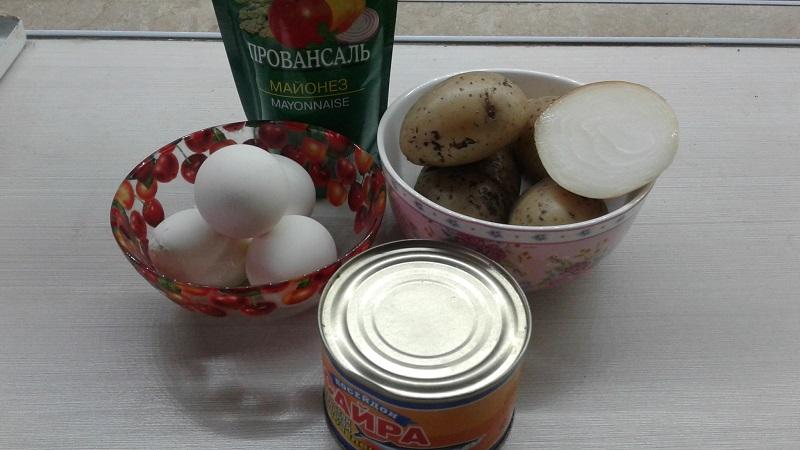 Салат Мимоза - рецепт приготовления с пошаговыми фото