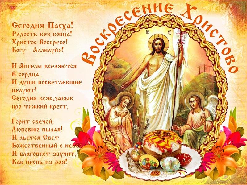 Поздравления с Пасхой Христовой 2020 в стихах и прозе